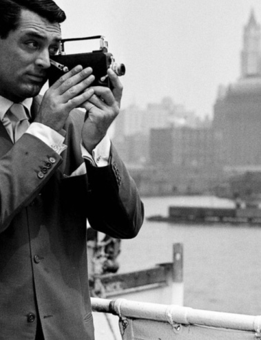 Cary Grant Shoots Home Movies