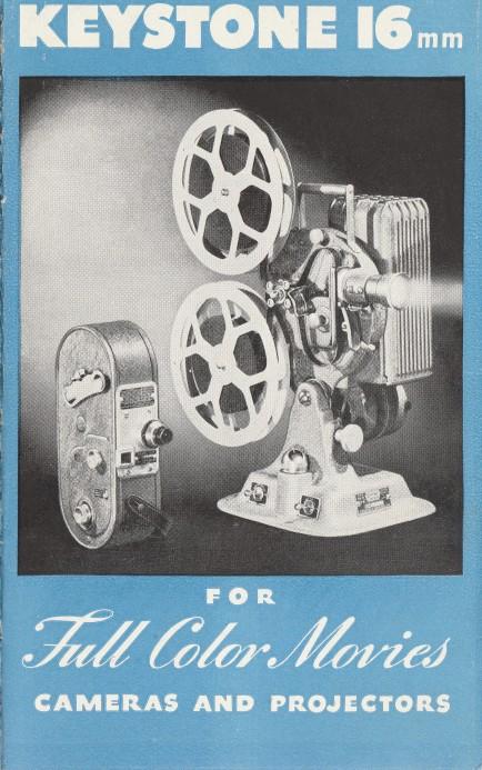 Keystone 16mm Brochure circa 1939