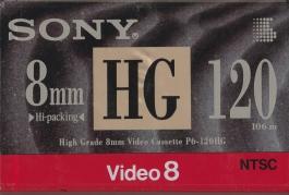 Video 8 Tape